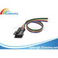 Buy cheap Pair 4-pin JST SM connectors for LED strips from wholesalers