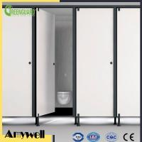 Buy cheap Amywell high density compact laminate HPL phenolic bathroom toilet partitions from wholesalers