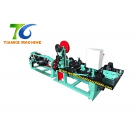 Buy cheap 2.2mm Galvanized Single Twist Barbed Wire Making Machine 355r/min from wholesalers