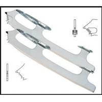 Buy cheap Strong Steel Ice Hockey Skate Blades 60HRC / PVC Upper Ice Skating Blade from wholesalers