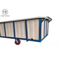 Buy cheap 1100kg Commercial Poly Box Truck , Portable Plastic Box Truck Cart  With Wheels from wholesalers