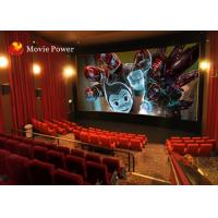 Buy cheap Canton Fair Simulator 4D Movie Theater With 3 Dof Electric Platform from wholesalers