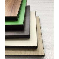 Buy cheap Glossy Surface Treatment Metal Color 18mm HPL Plywood from wholesalers