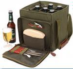 canvas beer bottle cooler bag,wine bottle bag