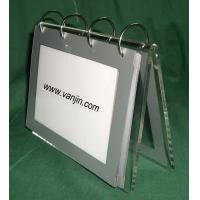 Buy cheap acrylic calendar holder/acrylic portrait display/perspex product from wholesalers