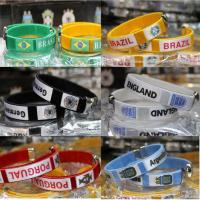 Buy cheap Brand New 2014 World Cup Football Teams Inwrought Sport Bangle Cuff Bracelet TJ0141 from wholesalers