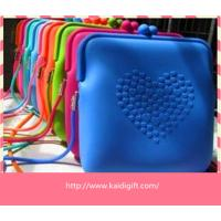 Buy cheap anti-dust Silicone Coin Purse Pouch Eco-friendly For Women from wholesalers