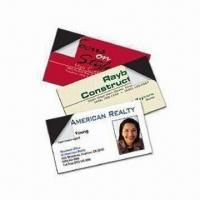 Buy cheap Business Card Magnets, Customized Designs and Sizes are Accepted, Suitable for Promotional Purposes product