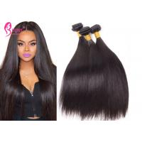 Buy cheap Indian 8A Non Remy Raw Weave Hair Extensions / Straight Hair Bundles from wholesalers