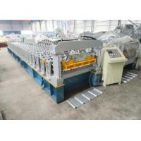 Buy cheap 24 Months Warranty Time Automatic Metal Roof Roll Forming Machine Based On ISO Quality from wholesalers