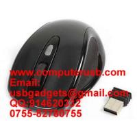 Buy cheap 2.4G Wireless Mouse Up to 10 meters from wholesalers