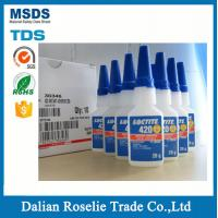 Buy cheap loctite 401 403 406 410 411 414  454 460 495 msds of instant adhesive krazy glue from wholesalers