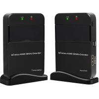 Buy cheap Black HDMI Wireless Extender 3.5W Power Consumption , Supports Dolby TrueHD product