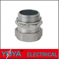 Buy cheap UL Zinc Threaded Conduit Fittings For EMT Compression Connector from wholesalers