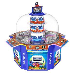 China Pirates Haunt 6 Candy Gift Vending Machine / Amusement Candy Prize Game Machine on sale
