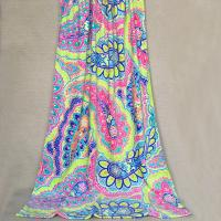 MultiColor Monogrammed Oversized Beach Towels Thermal Transfer Print