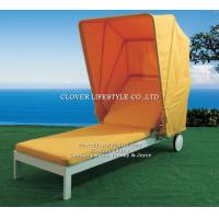 Buy cheap CK0240L All aluminum SUN BED for Hotel, Garden and Beach by Clover Lifestyle Outdoor Furniture China from wholesalers