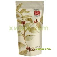 Buy cheap Biodegradable Coffee Packing Bags Brown Kraft Laminated Paper Bag For Tea FDA from wholesalers