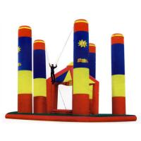 Buy cheap Inflatable Amusement Park Bungee Trampoline For Outdoor Games from wholesalers