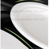 Buy cheap white circular paper dinner plates with PLA coating film, tableware, Light Industry & Daily Use, Tableware, Plates from wholesalers