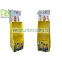 Buy cheap Four Tier Style Skincare POP Cardboard Displays / Shelf , 100% recyclable from wholesalers