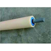 Buy cheap Energy Saving Return Small Idler Rollers For Belt Conveyor With Blue Cover from wholesalers