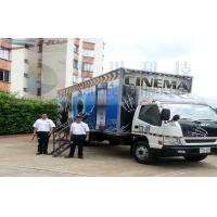Buy cheap Columbia Mobile 5D Cinema , Exiciting Car Cinema Snow Simulation product