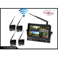 Buy cheap 2.4G Wireless Transmitting BUS Camera System , Wireless Remote Backup Camera product