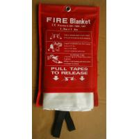 Buy cheap White Fiberglass Fire Blanket Environmental Friendly Fiberglass Welding Blanket from wholesalers