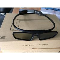 Buy cheap Lightweight DLP Link Active Shutter 3D Glasses With Recharge Fuction from wholesalers