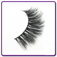 Synthetic Hair 3D Silk Eyelashes , Natural Looking False Eyelashes OEM Available