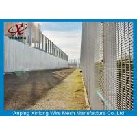 Buy cheap Professional Hot Dipped Welded Mesh Security Fencing For Protection from wholesalers