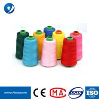 Buy cheap Wholesale Spun Polyester PTFE Dust Collector White Sewing Thread Filament Thread from wholesalers