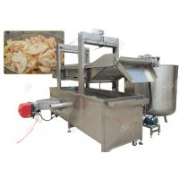 Buy cheap Continuous Pork Rinds Chicken Deep Fryer Machine Commercial Gas Heating Energy from wholesalers