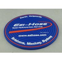 Buy cheap Customized Soft PVC Coaster With Logo Printing Diameter 9cm Pantone Chart product