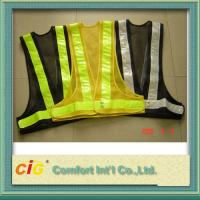 Buy cheap Polyester High Visibility Reflective Safety Vests Clohting With EN20471 CE from wholesalers