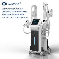 Buy cheap big powerful 2500W 4 handles cryolipolysis fat reduction with best cooling system -15 - 5 ℃ from wholesalers
