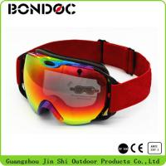 Buy cheap 2016 Top Model Sports Racing Ski Goggles Custom Logo Strap Snow High Quality TPU Frame Ski Goggles from wholesalers