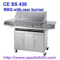 Buy cheap Full SS 6 Burner Infrared Burner BBQ Grill from wholesalers