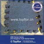 Buy cheap Gym Rubber Floor Mat Interlock Rubber Floor Tile from wholesalers