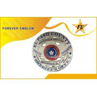 Buy cheap Engraved Military Police Badges , Free Phthalate Wonderful Lapel Pin from wholesalers