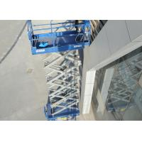 Buy cheap AWP Operation Scissor Lift Platform With Electric Motor And Hydraulic Motor Drive from wholesalers