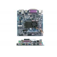 Buy cheap Intel Dual-Core C1037U CPU Industrial computer Motherboard Support VGA / LVDS / DVI from wholesalers