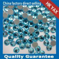 Buy cheap jx0519 strong glue 14-16 cutting hotfix rhinestone flatback,rhinestone flatback hotfix free sample from wholesalers