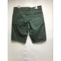 Buy cheap Army Green Casual Style Mens Short Twill Pants , Mens Cargo Shorts Pants from Wholesalers