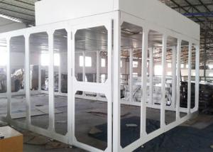 Buy cheap Spray Coated Steel Portable Class 100 Cleanroom Booth / Laminar Flow Booth product