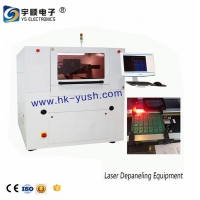 Buy cheap Multiple Milling Knife High Speed PCB Depaneling Machine In Line Router With Linear Guides / Blade from wholesalers