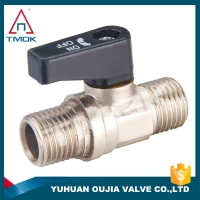 Buy cheap 3/4 2PC External Threaded Brass Ball Valve Mini With End Stop from wholesalers