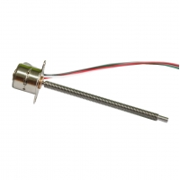 Buy cheap Customized VSM1070 10 mm stepper motor with threaded M3 lead screw from wholesalers