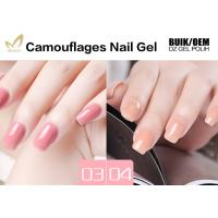 Buy cheap Non Toxic Camouflage Uv Gel , 5/10/15ml Jar Uv Builder Gel Superior Performance from wholesalers